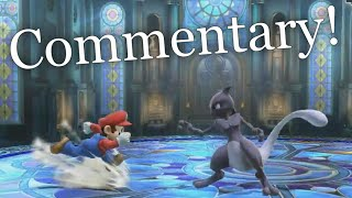 A friend wanted me to commentate a Smash Bros. match. I have no idea how the game works. The result: