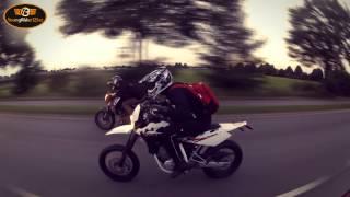7. KTM Duke 125 VS. Husqvarna SMS 4 Stroke  | Dragrace | Who is the winner?