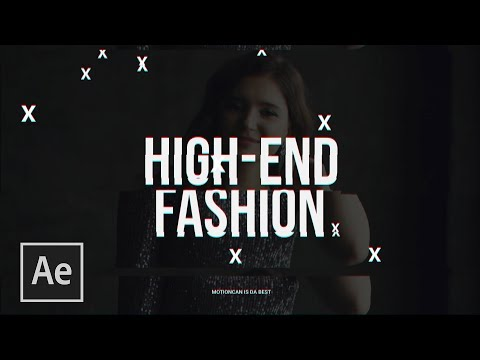 3 High-End Fashion Motion Graphic Effects | After Effects Tutorial