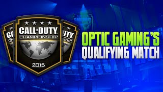 OpTic Gaming's Call of Duty Championship Qualifying Match