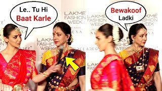 Video Esha Deol And Hema Malini Walks Out Of Lakme Fashion Week 2018 After Being Interrupted By Anchor MP3, 3GP, MP4, WEBM, AVI, FLV Oktober 2018