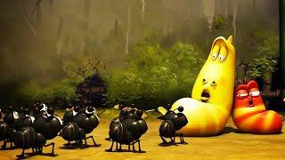 Video LARVA   LARVA VS FOURMIS   Film de dessin animé   Dessins Animés Pour Enfants   WildBrain MP3, 3GP, MP4, WEBM, AVI, FLV Desember 2018