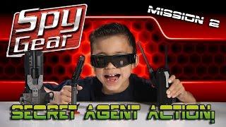 Video SPY GEAR: Quest for the GOLDEN EGG! Spike Mic, Video Glasses, Spy Pen MP3, 3GP, MP4, WEBM, AVI, FLV Januari 2018