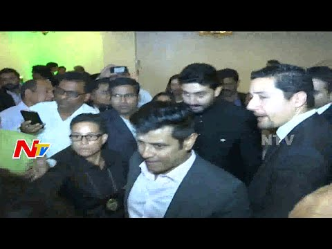Abhishek Bachchan and Vikram attended FIA Event in New Jersey