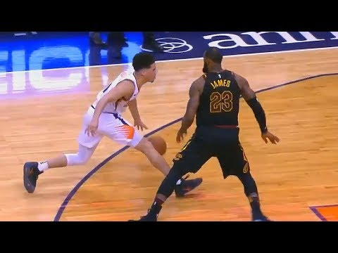 LeBron James Gets Revenge on Devin Booker!
