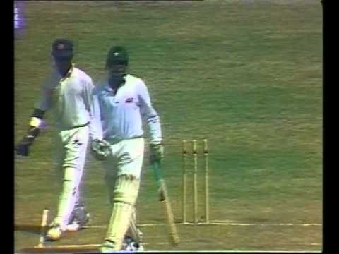 Test series highlights: Sri Lanka in Pakistan, 1995/96
