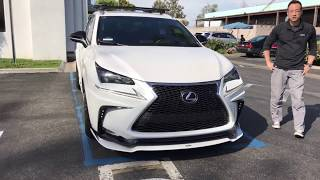 While shooting the #RCRealtime I also shot Keith's highly modified NX F-Sport. He explains all his mods in depth! 2015 NX 200t F-Sport AWD RS-R CoiloversArtian Spirits full Widebody KitApexi N1-X ExhaustApexi Throttle ControllerInno Roof Rack