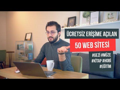 Ücretsiz erişime açılan 50 Web sitesi (Gezi, Müze, Kütüphane, Eğitim)