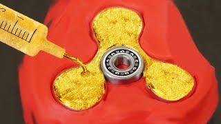 DIY Gold Fidget Spinner