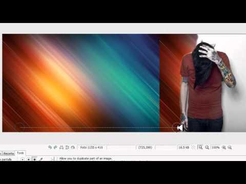 Video 1 de Photoscape: Cómo cambiar el fondo de una imagen
