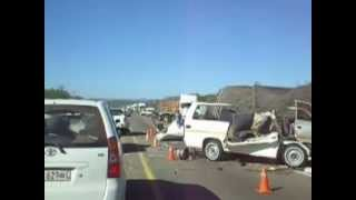 Louis Trichardt South Africa  city images : Accident between Mussina and Louis Trichard (South-Africa) on May 9th 2013