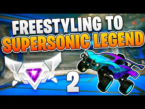 Freestyling To SUPERSONIC LEGEND 2