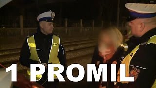 """""""Policjantem to każdy głupi może być"""" pijana blondyna jedzie po mundurowych"""