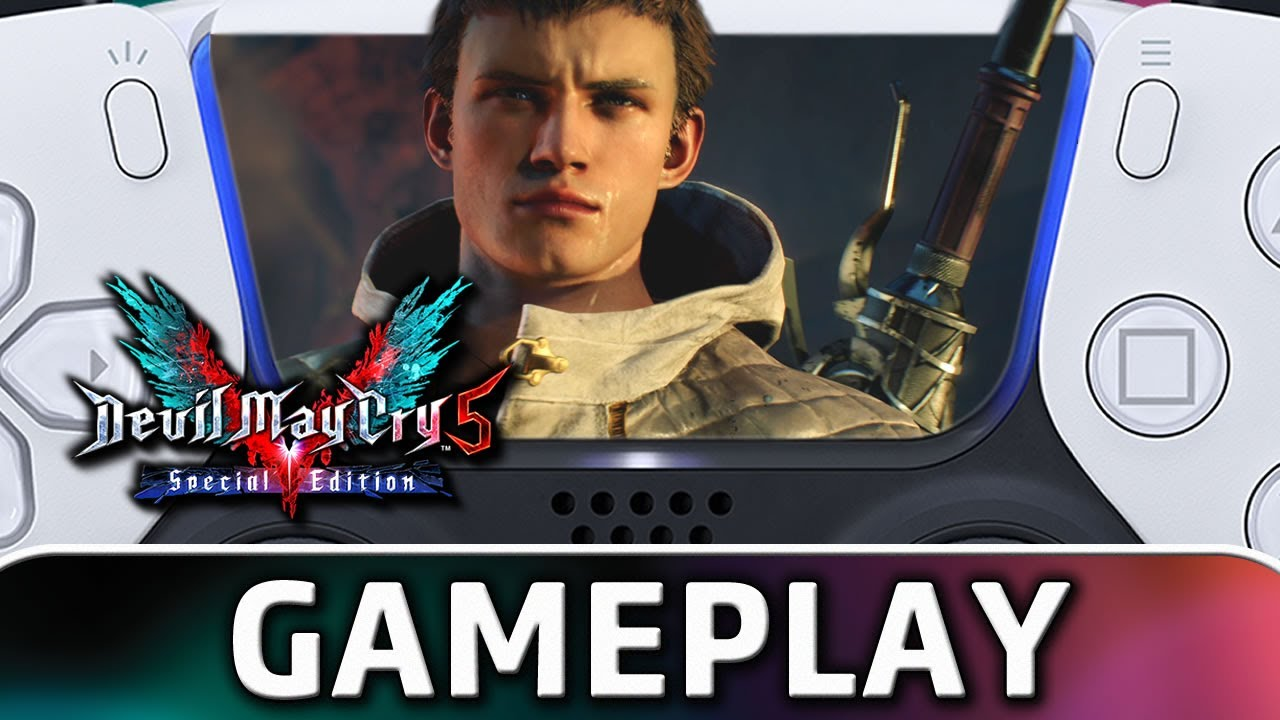 Devil May Cry 5: Special Edition   PS5 4K Gameplay With RAY TRACING