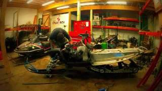 10. 2006 Polaris 700 IQ Classic Dismantled