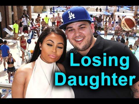 Rob Kardashian & Blac Chyna: In Danger of Losing Daughter?