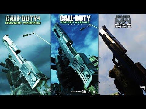 ULTIMATE Modern Warfare Comparison Side By Side 8K (COD 4 vs MWR vs MW 2019)
