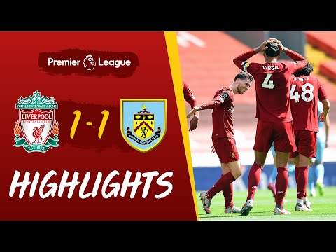 Highlights: Liverpool 1-1 Burnley   Robertson scores, but Reds held at home