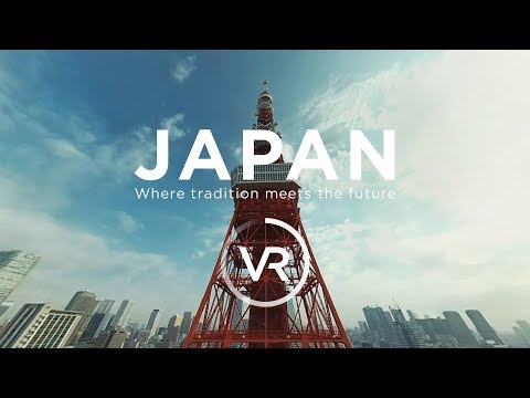 [360°VR] JAPAN - Where tradition meets the future (видео)