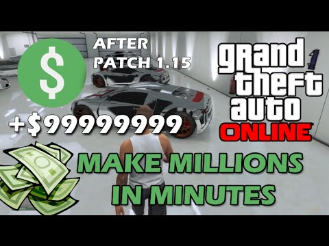 GTA 5 1.15 EASY Money Glitch After Patch 1.15 Millions of $$$ in minutes! (GTA Online) (видео)