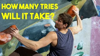 Emil vs Nikkens Masterpiece - Will it go down in 1 session? by Eric Karlsson Bouldering