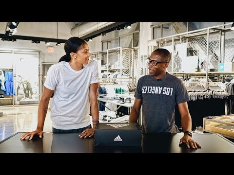 UNBOXING Exclusive: NEW adidas Basketball PE WITH CANDACE PARKER