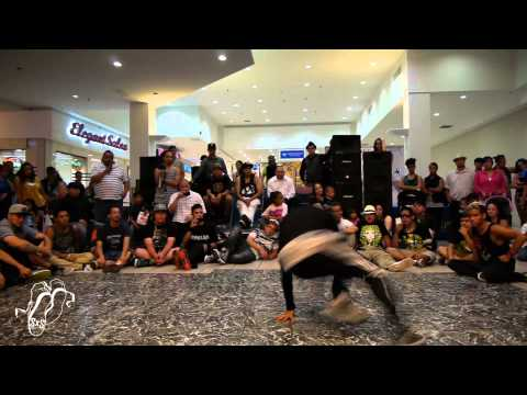 Bam (Zulu Kings) vs Spyder | Bboy Finals | Popping John's BeastMode 2013