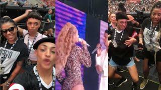 Ludmilla e Pabllo Vittar curtem show da Beyoncé juntas