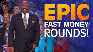 Video 2018's MOST INCREDIBLE FAST MONEY ROUNDS | Family Feud MP3, 3GP, MP4, WEBM, AVI, FLV Juni 2019