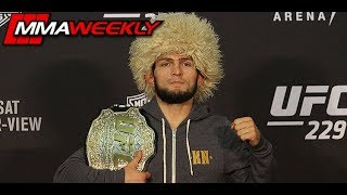 Video UFC 229: Khabib Nurmagomedov Post-Fight Press Conference  (FULL) MP3, 3GP, MP4, WEBM, AVI, FLV Oktober 2018