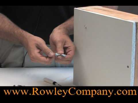 Installing Hollow Wall Fasteners