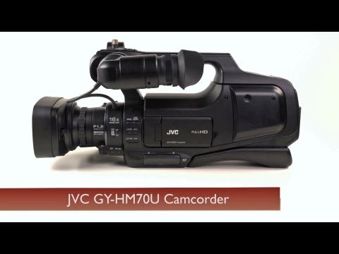 about:JVC - http://bit.ly/JVCGY-HM70U The new JVC GY-HM70U camcorder is a shoulder-mounted ENG style camera that's easy to use and priced with affordability in mind.