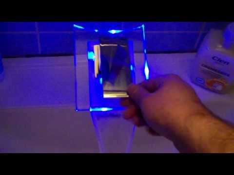 Test: LED Wasserhahn Magic