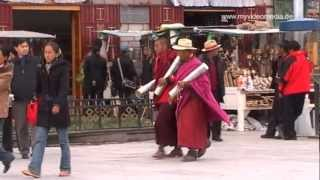Lhasa China  city pictures gallery : Streetlife in Lhasa, Tibet - China Travel Channel