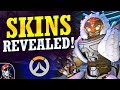ORISA & TRACER SKINS Revealed! | New Legendary & Epic Skins! (Overwatch 2019 Lunar New Year)