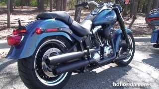 1. New 2014 Harley Davidson Fat Boy Lo 2015Models Arriving August 2014