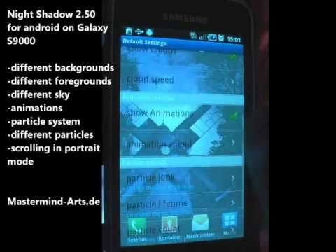 Video of Night Shadow LITE