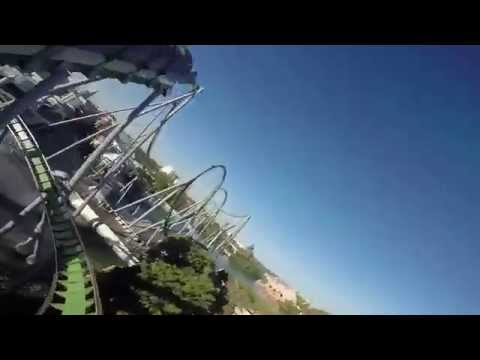 The Incredible Hulk Coaster POV