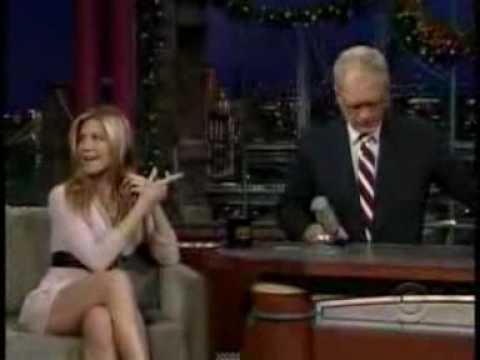 Jennifer Aniston On David Letterman 17 December 2008 Part 2