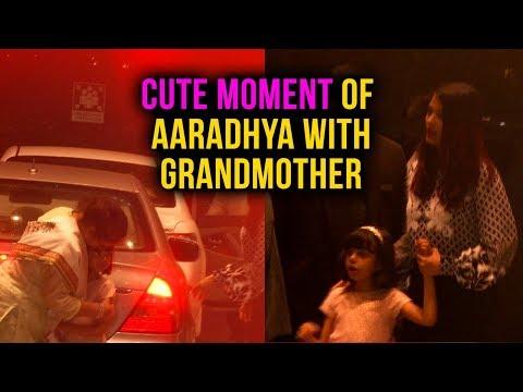 Cute Gesture Of Aishwarya Rai Bachchan's Daughter
