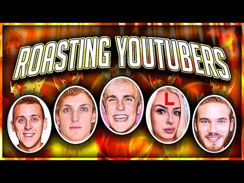 ROASTING YOUTUBERS (Jake Paul, Logan Paul, Roman Atwood, AND MORE)
