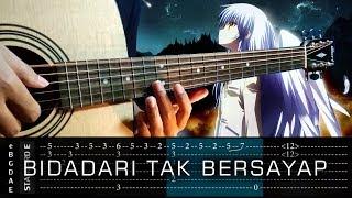 Video TAB Tutorial (Tab Untuk Belajar) - Bidadari Tak Bersayap - Anji - Cover (Fingerstyle Cover) MP3, 3GP, MP4, WEBM, AVI, FLV Februari 2018