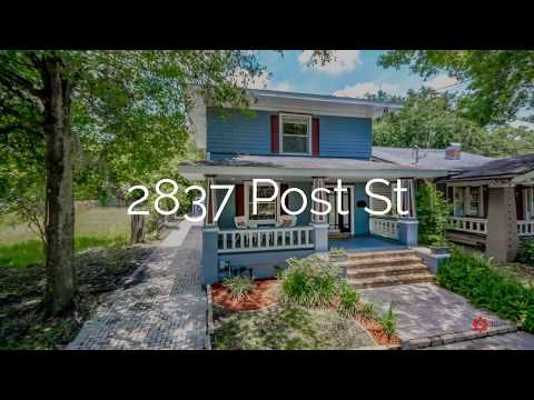 2837 Post St Jacksonville, FL Video