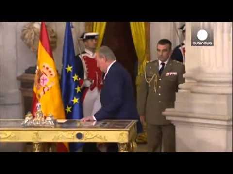 El nuevo rey de España no usará la corona