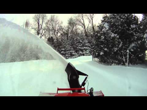 Kubota B3030 Blowing Snow II  For Bob