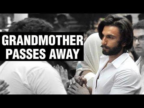 Ranveer Singh's Grandmother Passes Away | Bollyw