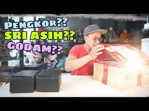 MASIH HEBOH GUNDALA !!! UNBOXING MYSTERY BOX FROM GUNDALA MADE IN DOLANAN KEREN!! SOLD OUT TOO!!
