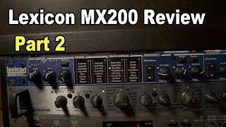 Video Lexicon MX200 Review Part 2: Delays/Multi-Effects MP3, 3GP, MP4, WEBM, AVI, FLV Desember 2018
