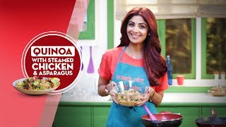 This is another one of my favourites! Super-healthy and nutritious and if you are vegetarian, just follow the recipe and simply leave out the chicken or you could add grilled paneer!Here is the link for all the fitness freaks out there - http://bit.ly/ShilpaShettyKundraDon't forget to Like & Share for more fitness videos!!!Like us on Facebook - https://www.facebook.com/TheShilpaShetty/Follow us on Twitter - https://twitter.com/TheShilpaShettyFollow us on Instagram - https://www.instagram.com/theshilpashetty/