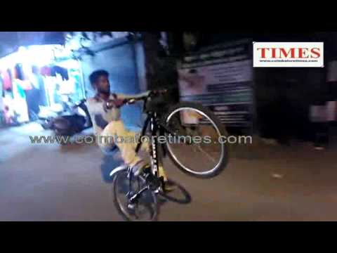 keenness cycle whiling record by kalapatti arun